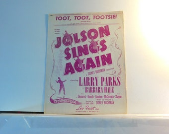 Toot, Toot, Tootsie (Goodbye)  vintage sheet music by Gus Kahn, Ernie Erdman and Dan Russo