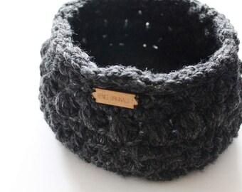 Small Basket, Home decor,  Baby storage - Crochet basket - Produce bowl, Decorative storage