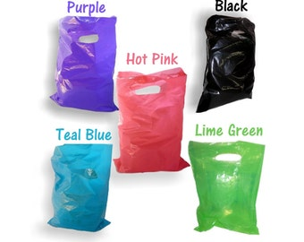 "100pcs -9x12"" 5 Colors ~Hot Pink