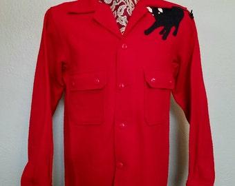 1960s boy scout ranch jacket