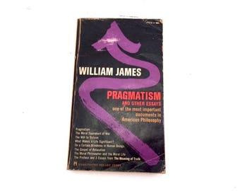 Pragmatism, William James, 1970