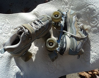 Roller skates found in parking lot by a friend