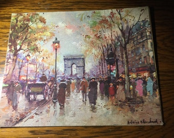 Antoine Blanchard Lithograph - 1950s