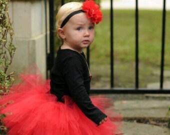 Baby Girl Tutu Skirt Set with Headband Photo Prop Baby Tutu Skirt