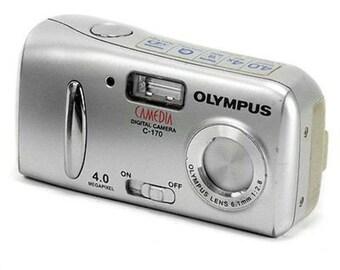 Olympus Camedia C-170 Vintage 4MP Digital Compact Point & Shoot Camera