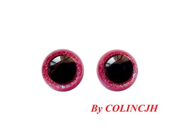 10pairs Safety Eyes Hand Painted Eyes Plastic Toy Eyes Doll Parts Animal  Plush Eyes 7.5mm/9mm/10.5mm/12mm/15mm/18mm Can Be Chosen