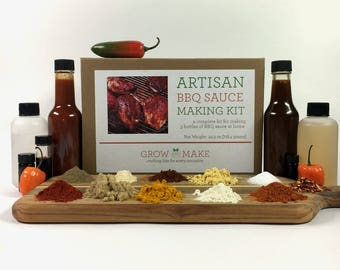 DIY Artisan BBQ Sauce Kit
