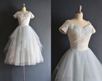Remi / 50s Cahill wedding dress / vintage 1950s wedding dress