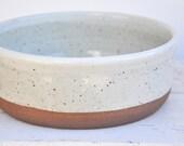 Dog Bowl, Handmade ceramic dog bowl, pottery dog bowl, pet bowl