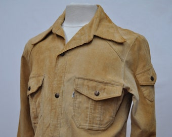 1970s Levi Corduroy Cream Jacket