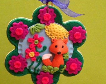 Polymer clay,ornaments,collector item,handmade,Christmas gifts,gift tags