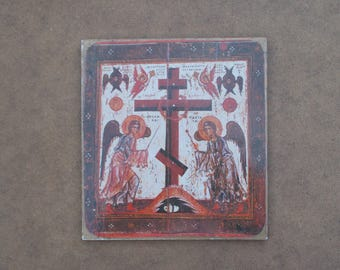 The Adoration Of The Cross Plaque