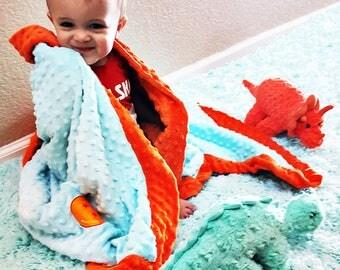 Super soft, Minky Baby Blanket