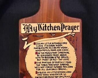 "Souvenir from Memphis, Tennessee ""My Kitchen Prayer"" 1950's"
