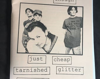 Just Cheap Tarnished Glitter - a zine about the Manic Street Preachers
