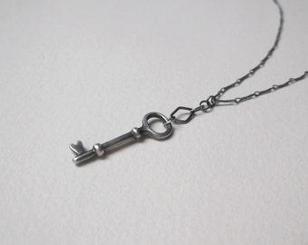 Tiny Key Necklace