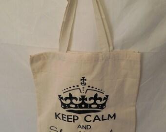 Keep Calm and Shop Local Bag