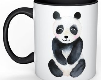 Panda Mug Gift for Girlfriend Panda Lover Coffee Mug Panda Bear Gift for Her Funny Coffee Cup Birthday Day Gift Idea for Sister Wife Gift