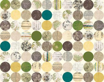 C4013-Cream Trail Mix by Riley Blake Designs 2-1/2 Yards