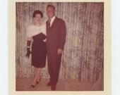Vintage Snapshot Photo: Couple, 1962 (71541)