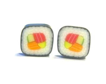 Oiishi Sushi Rolls Earrings