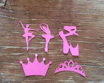 Ballerina die cuts cut outs