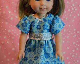 Sweet Blue Wellie Wisher Dress