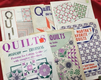 Quilting pattern books