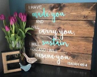 Isaiah 46:4 scripture