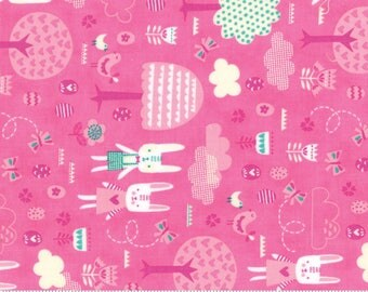 Moda-Spring Bunny Fun by Stacy Iset Hsu The Great Hunt in Pink 20543-16