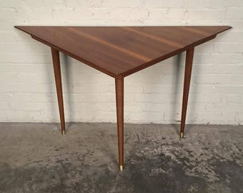 Mid-Century Modern Sofa Sectional Corner Table - SHIPPING NOT INCLUDED