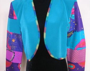 Gorgeous JEANNE MARC Cropped Jacket