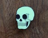 Glow Skull Pin
