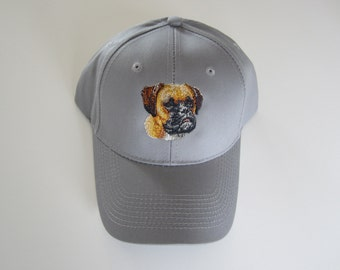 Boxer embroidered cap