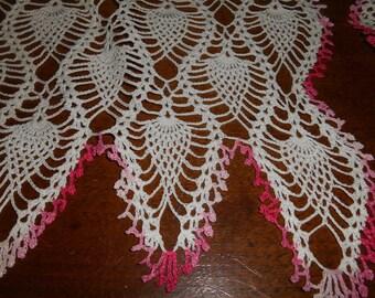 3 piece set crochet doilies
