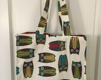 Owl-Reusable Shopping Bag