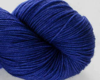 Hand Dyed Yarn - Sporty - Peggy's Purple