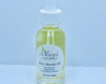 Natural Moisturizer  Unrefined Marula Oil Facial Oil   1 oz bottle