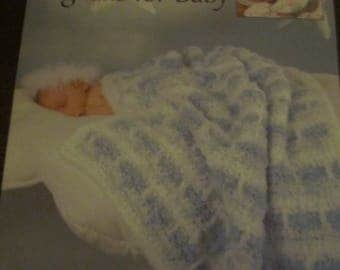 Cloud Nine Afghans for Babies Leisure Arts QUick & Easy Crochet