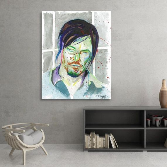 The Walking Dead Daryl Dixon Norman Reedus Fine Art Print