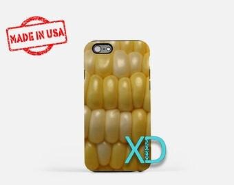 Corn iPhone Case, Food Case, Corn iPhone 8 Case, iPhone 6s Case, iPhone 7 Case, Phone Case, iPhone X Case, SE Case Protective