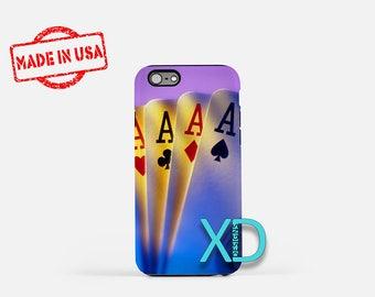 Ace iPhone Case, Poker iPhone Case, Ace iPhone 8 Case, iPhone 6s Case, iPhone 7 Case, Phone Case, iPhone X Case, SE Case Protective