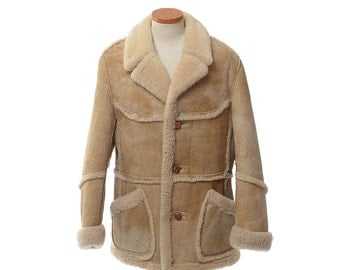 Shearling coat – Etsy