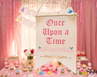 Once Upon a Time Welcome Sign - Instant Download