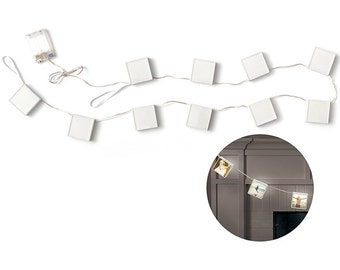 We R Memory Keepers - Photolights - Backlit Acrylic Photo Frame Strand 5ft - Holds (10) 2.1875inX2.25in Images