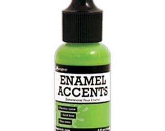 Ranger - Enamel Accents - Electric Lime