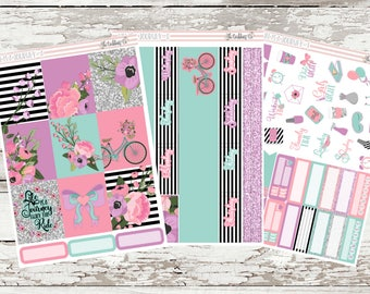Life Is A Journey Weekly Planner Sticker Kit