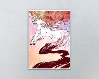 Okami Amaterasu Shiranui 5x7 Print