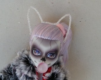Cat Ear Headband Hair Accessory for Monster Ever After Barbie Dolls