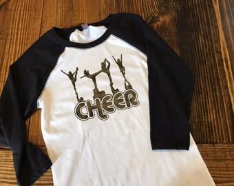 Cheer Raglan T-shirt